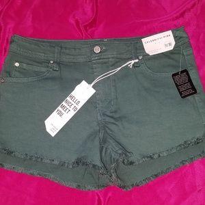 Celebrity Pink Shorts Dark Green Size 11/30